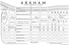 Lovecraft's Map of Arkham