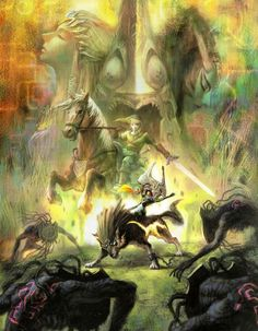 The Legend of Zelda: Twilight Princess Artwork