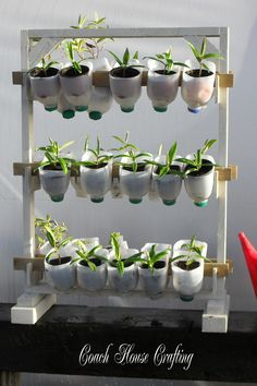 Kick off gardening season with these clever DIY ideas using recycled finds.