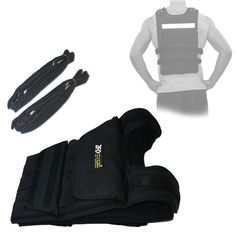 ZFOsports - 80LBS ADJUSTABLE WEIGHTED VEST - Listing price: $219.99 Now: $149.95