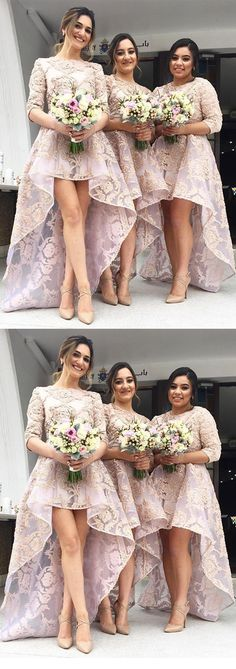 A-Line Bridesmaid/Prom Dress with Appliques#dress #plussize