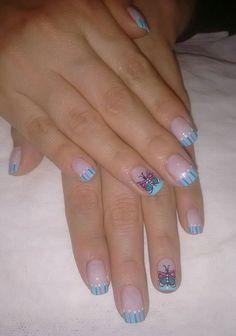 Mariposa Manicure Y Pedicure, Fun Nails, Nail Designs, Manicures, Art, Finger Nails, Pedicures, Fingernail Designs, Feminine Style