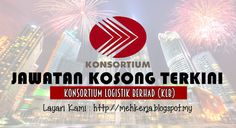 Jawatan Kosong di Konsortium Logistik Berhad (KLB) - 6 Nov 2016   Konsortium Logistik Berhad a subsidiary of Kuala Lumpur Airport Services (KLAS) under the umbrella of DRB-HICOM Group of Companies is a leading total logistics provider with over 25 years ofexperiencein the industry.  Jawatan Kosong Terkini 2016diKonsortium Logistik Berhad (KLB)  Positions:  1.E-Commerce Executive2. Information Technology Executive3. Corporate Development Manager  Closing date :06 November 2016  Klik Job…