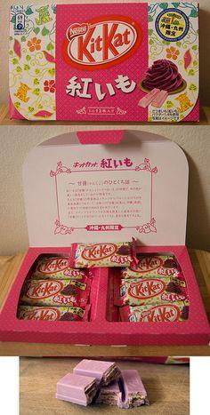 Purple Sweet Potato Flavour Kit Kat Beni-Imo (Okinawa-Kyushu Regiona Limited Edition)