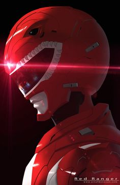 Red Ranger Redesign by Donovan Liu on ArtStation.