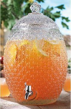 2.7 Gallon Pineapple Elegant Drink Dispenser. $45.99