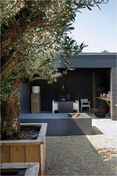 Veranda ontwerp Mymoodz #porch #veranda #garden #tuin #patio #olijfboom #olivetree #ibiza: