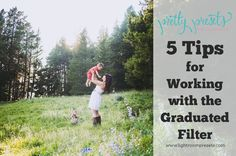 Are you getting the most out of the graduated filter tool in Lightroom? Do you have the Pretty Presets Graduated Filters and Brushes set and are not sure if yo Lightroom Tutorial, Photoshop Tips, Photoshop Elements, Photography Software, Photography Tips, Family Photography, Camera Hacks, Camera Tips, Pretty Presets