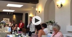 """Best Man Toast. penned a hilarious and incredibly sweet tribute to the tune of """"Let It Go"""" from Frozen."""