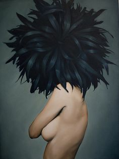 """Amy Judd. Beautifully Obscure. Oil on canvas, 30 x 40""""."""