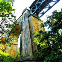 Puente del #ferrocarril de Hervás. Plasencia-Astorga. Abandonada. #ffccExtremadura Original: José Manuel.