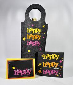 Happy birthay Set #winniewalter #silhouette #heattransfer