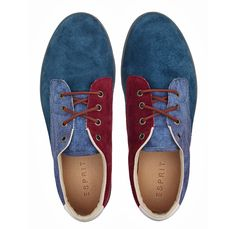 Esprit Denim Boat Shoes and Sneakers - Footwear 2013 Spring Summer Mens - Deck Top Siders & Casual Trainers Kicks - Made in Denim Finds #MadeInDenim #DenimFinds: Accessories, Headgear, Footwear, Shoes, Bags, Toys and Products Made in Denim, Quirky & Cool Finds, Denim Outerwear (coats, parkas, capes, jackets, vests and more)