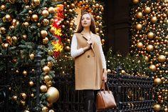 Анна // Новогодняя и Рождественская прогулочная фотосессия в Лондоне