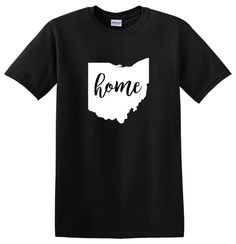 Ohio home shirt,  Ohio shirt, Ohio tshirt, Ohio gift,  Ohio t shirt by AweBeeDesigns on Etsy