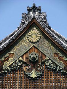 Nijo Castle Roof Detail | Kyoto, Japan