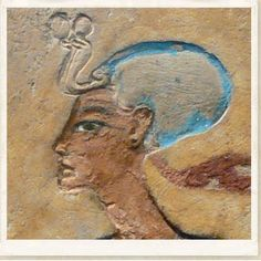 """QUEEN NEFERTITI - This image is from the limestone carving called the """"Relief of a Royal Couple"""" and is believed to depict Nefertiti. From the 18th Dynasty circa 1330BC."""