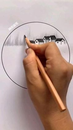 Art Drawings For Kids, Art Drawings Sketches Simple, Cool Drawings, Landscape Pencil Drawings, Pencil Art Drawings, 3d Art Drawing, Art Drawings Beautiful, Diy Canvas Art, Art Lessons