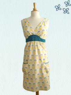 Mata Traders Sweet Escape Dress - Yellow