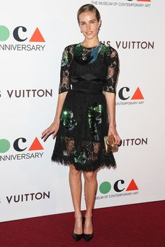 Isabel Lucas at The Museum Of Contemporary Art Gala, 2014.