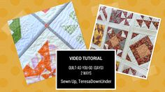 There are many ways to do quilt-as-you-go (QAYG) and these are 2 of my favourite methods. Learn QAYG 2 ways in 5 minutes More details on each method: QAYG with narrow sashing QAYG with wide sashing…