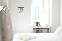 'cats let nothing darken their roar' calendar by noa bembibre Scandinavian Bedroom, Scandinavian Style, Man Of The House, Minimalist Bedroom, White Bedroom, All White, Interior Inspiration, Illustration, Cool Stuff
