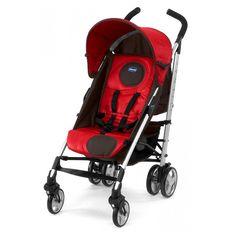 Chicco Echo With Bumper Bar Stroller Orange Safety