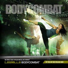BodyCombat: Unleash your inner warrior, kick butt, and burn over 700 calories!
