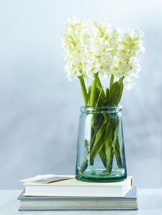 Tapered Recycled Glass Vase