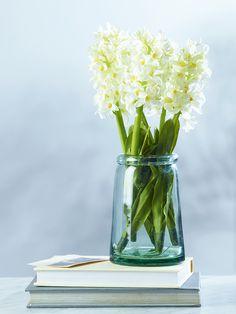 NEW Six Faux Hyacinth Stems