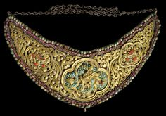 Nepalese Jewelled Breast Plate