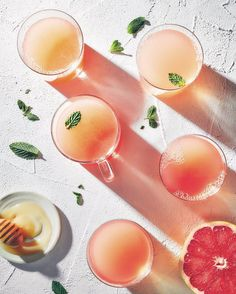 This Sweet Mint and Grapefruit Tea recipe is featured in the Juice feed along with many more. Mint Tea, Holiday Cocktails, Smoothie Bowl, Smoothies, Tea Recipes, Healthy Recipes, Non Alcoholic, Southern Recipes, Tea Time