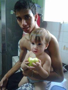 Meu neto e meu biz neto