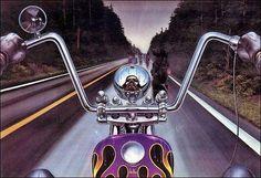 david mann artist | Motoblogn: David Mann - The Norman Rockwell of Biker Art - Gallery 3