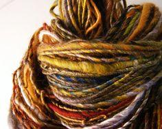 Hebridean amble handspun yarn silk