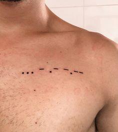 Tattoo Interstellar STAY morse code código interestelar