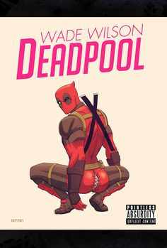 CyberWolf, Deadpool X Nicki Minaj Created by Marco D'Alfonso...