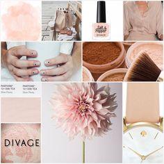 #coloroftheweek   Pantone 12-1206 Silver Peony: uno splendido rosa cipria romantico e delicato, perfetto per tutte le carnagioni e per un nude look bon ton.