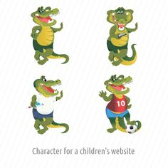 This is aMascot for children website I've done