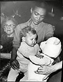 Eartha Kitt And Daughter Kitt Mcdonald. Eartha Kitt Catwoman, Civil Rights Activists, Kitten Love, Black Angels, Black Women Art, I Meet You, Santa Baby, Mothers Love