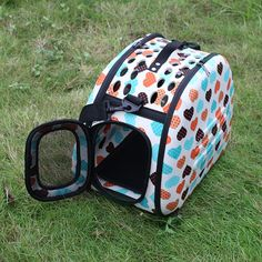 $27.00 NEW Folding Pet Carrier Dog Cat Travel Bag Collapsible Crate Tote Handbag