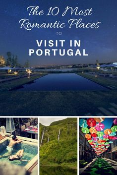 The 10 Most Romantic Places to Visit in Portugal hand-picked by me for you. Tried and tested, I know you'll love them. Sintra Portugal, Braga Portugal, Visit Portugal, Spain And Portugal, Road Trip Portugal, Best Places In Portugal, Portugal Travel, Most Romantic Places, Romantic Vacations