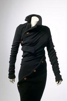 Rei Kawakubo #knit #sweater #black #style