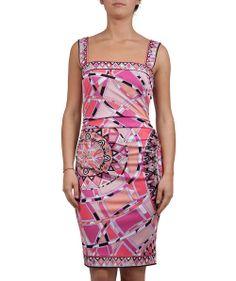 Groppetti Luxury Store - Abito Fantasia Senza Maniche - Emilio Pucci Spring Summer Collection 2014 #emiliopucci #woman #fashion