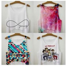 some beautiful tanktops, perfect for summer