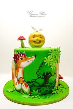 Kolobok cake - Cake by Alina Vaganova