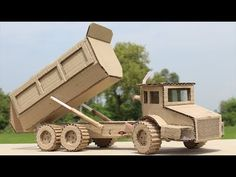 Wow! How to Make a Dump Truck with Cardboard at Home - YouTube