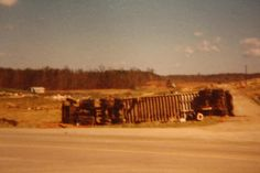 Subdivision at Taylor Place Tornado 1974 - Jamestown, TN