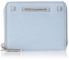 Rebecca Minkoff Mini Ava Zipper Wallet, Soft Blue, One Size Rebecca Minkoff http://www.amazon.com/dp/B00QRZL4G6/ref=cm_sw_r_pi_dp_.luWub1FWASX5
