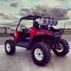 2013 RZR 800 with oodles of cool custom goodies.
